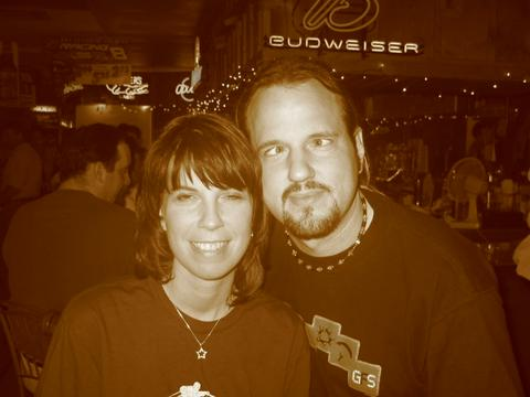 Tommy and Girlfriend Caren at T-BAG 2-27-2004... wait a minute... TOMMY!?!?!